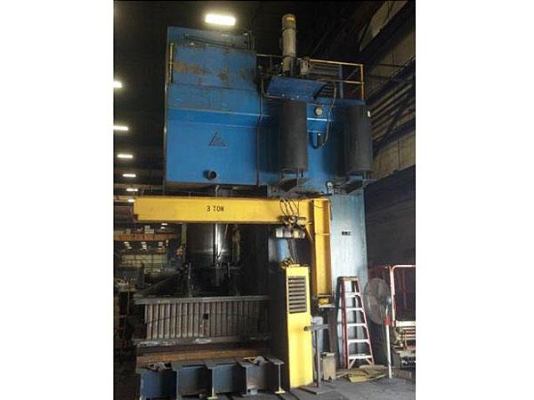 1800 Ton Clearing Press Rebuild and Controls