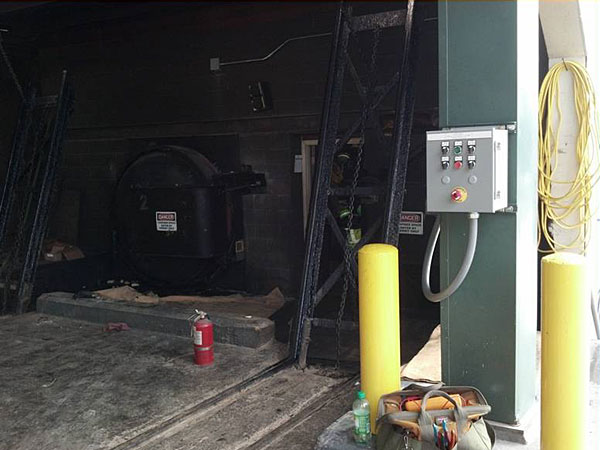 Vessel Door Automation in Creosote Pressure Treating Process - McAlisterville